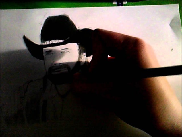 [My Beginning] Speed Drawing - Walker Texas Ranger