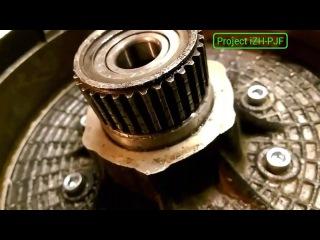 8 Замена ступици диска ИЖ орион (литье) балансировка (Project iZH-PJF)
