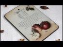 Разделочная доска Яблочный джем Замедлитель высыхания акриловых красок в деку