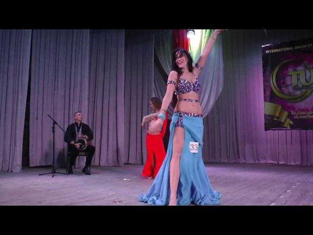 Анжелика Арутюнян, импровизация под дарбуку, профессионалы 1 место
