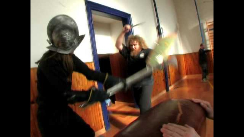 SWORD FIGHT STUNTS A.R.G.O. FILM WARRIORS: FENCING AND FIGHT TRAINING FOR BATHORY PROJECT (2006)