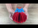 DIY Crafts - How to make Paper DOLL lovely and cute DIY for kids