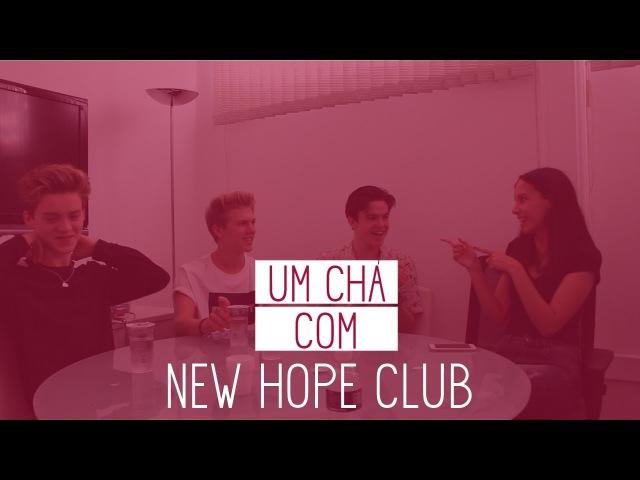 UM CHÁ COM NEW HOPE CLUB: LETRA DE FIXED OU CANTADA DE 'FIXED FAN'?