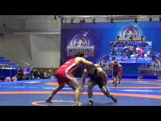 Jatchvadze (GEO) - Kulchytskyy (USA) FS 70 kg World Wrestling Clubs Cup 2016