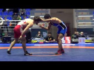 Phartenadze (GEO) - Mehran (IRI) 61 kg World Wrestling Clubs Cup 2016