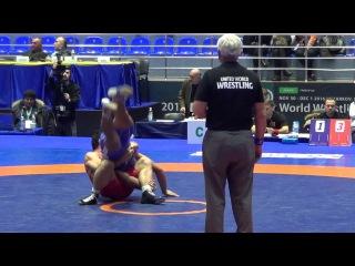 Egadze (GEO) - Tumurbat (MGL) FS 86 kg World Wrestling Clubs Cup 2016