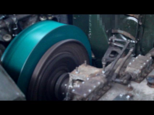 Первый запуск двигателя танка Т34-85