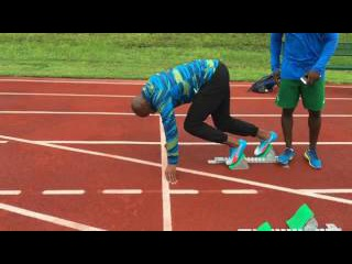 Asafa Powell block start NEW 2016