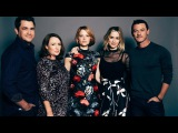 Emily Blunt, Haley Bennett, Luke Evans, Tate Taylor and Paula Hawkins On