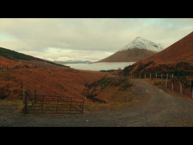 Glencoe Mountain In Scotland
