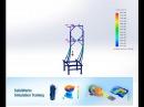SolidWorks simulation Статический анализ конструкции в solidworks Пошаговая инструкция