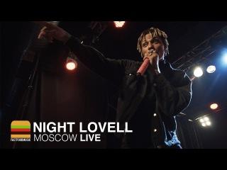 Выступление Night Lovell с песнями «Boy Red» и «I'm Okay» в Москве (03.03.2017)