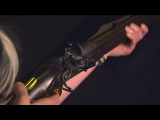 A Battle of Waterloo period Model 1805 Baker Rifle being fired in slow motion ACDC Big Gun