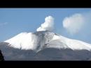 Таймлапс изверженя вулкана Асама с 28 по 29.06.2015