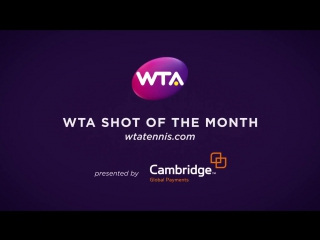2017 WTA May Shot of the Month - Venus Williams