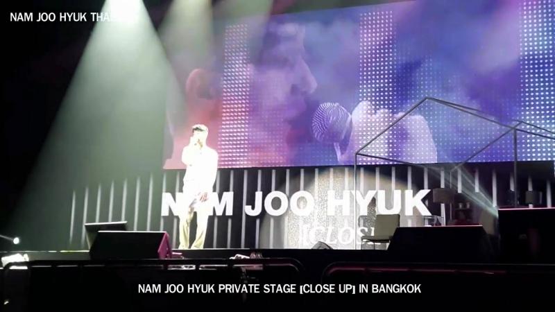 170916 NAM JOO HYUK PRIVATE STAGE IN BKK - 백야 (White Night) - 짙은 (Zitten)