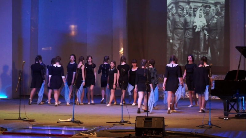 ДШИ№1 отчетный концерт 06.05.17 с танцами Молитва и Моя Марусечка