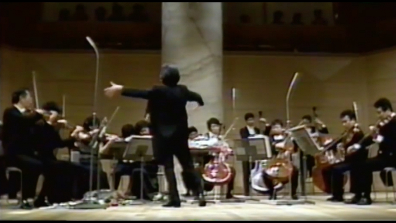 J.S.Bach overture (suite) No. 3 in D major, BWV 1068 - II. Air, Conductor (Seiji Ozawa)