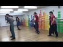 Урок Сальсы в Dance Life Учим новую связку
