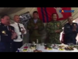 Поющие генералы региональных ФСБ, МВД, СУ СК вместе с губернатором Бочаровым вз