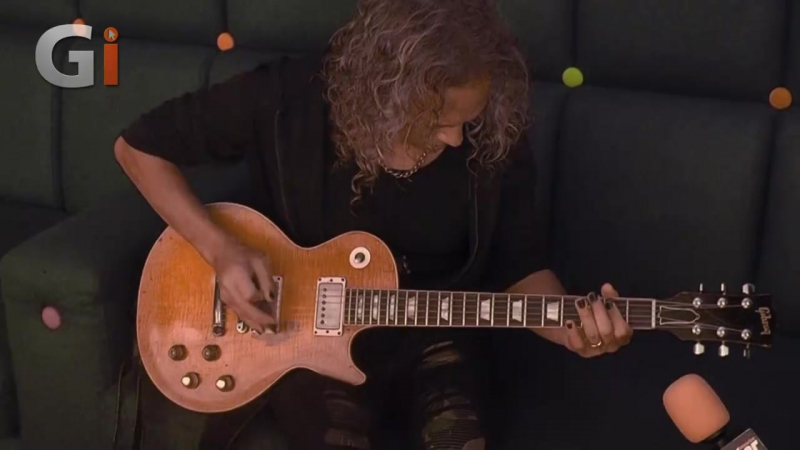 Kirk Hammett Play Fleetwood Mac's Oh Well on the Peter Green Les Paul
