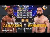UFC Fight Night 109 Абдул Разак Альхассан vs Омари Ахмедов полный бой