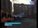 Эвакуация памятника Истребитель МИГ 23 установили на новом месте в Иркутске