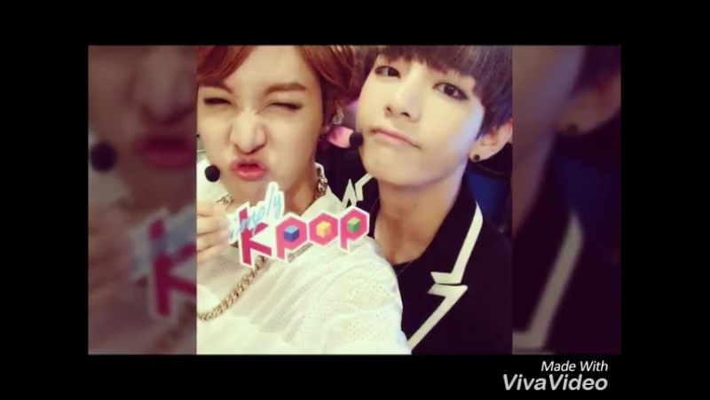BTS VHope...V and JHope