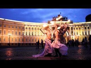 MAAVI neo-baroque fire dance