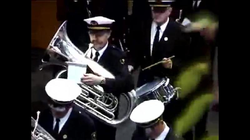 Trumpet Parade Prank - Krzych from Wroclaw