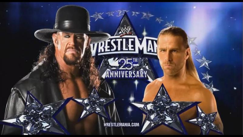 (HighLights) Shawn Michaels vs The Undertaker - WrestleMania 25