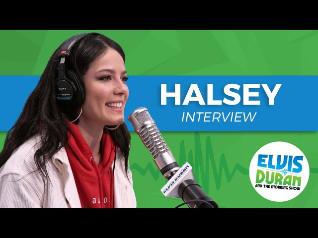 Halsey Chats Designing Her Stage Being Strangely Calm After Performing | Elvis Duran Show