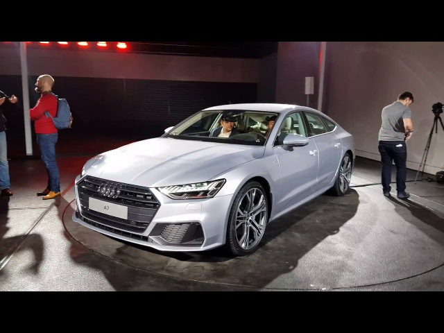 [4k] NEW Audi A7 in SUPERDETAIL INTERIOUR and haptic feedback MMI system