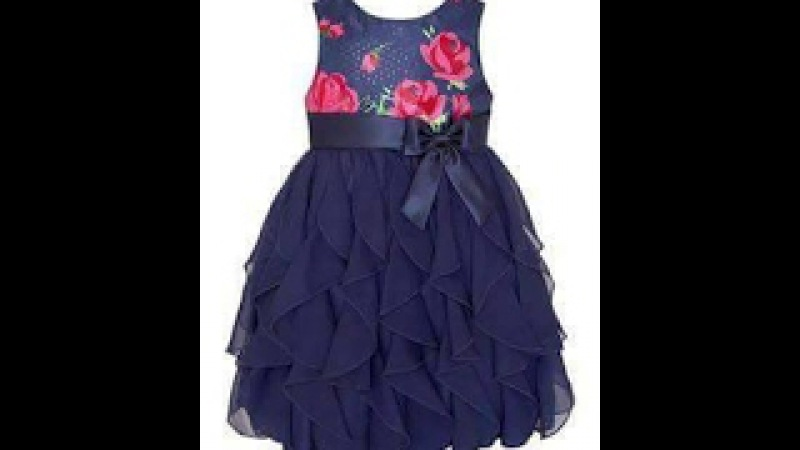 HOW TO CUT AND STITCH A CASCADE RUFFLES BABY FROCK ( CASCADING RUFFLES)