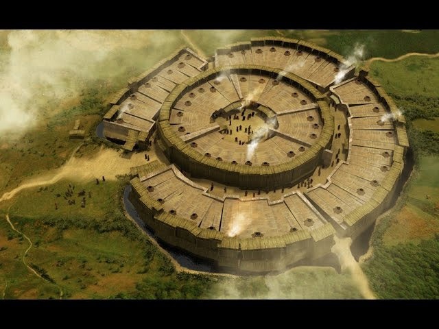 Аркаим древний уральский город построенный пришельцами