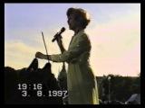 Эдита Пьеха на Дворцовой площади Санкт-Петербурга. 1997 г., ч.1