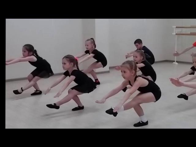 отчетный урок по хореографии, 2 год обучения)