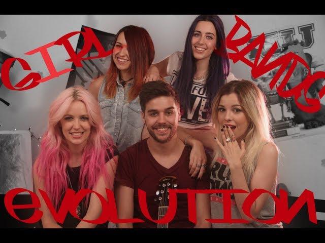 GIRLBANDS EVOLUTION - Chusita ft. Sweet California y @KarliGavalda