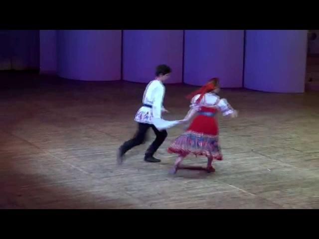 Русский танец. Хореографический ансамбль Ритмы детства