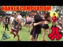 SKITZ HAKKEN COMPILATION! Defqon.1 Public Raving!