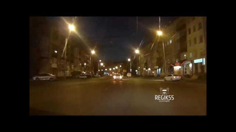 Выкрутасы на дороге, Омск