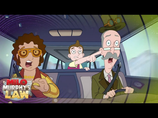 Phineas and Ferb Crossover! | Milo Murphy's Law | Disney XD