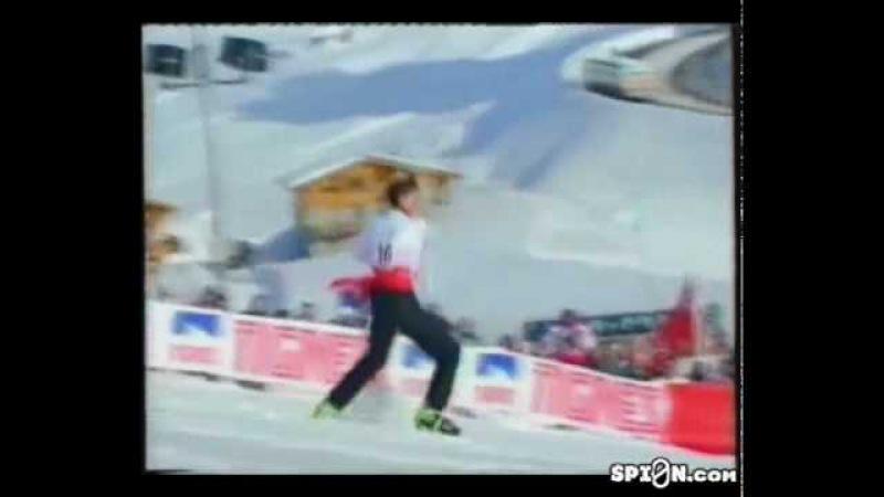 Freestyle skiing Ballet Fabrice Becker