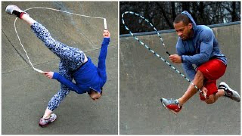 Worlds Most Amazing Jump Roping Couple - LFTJ 2