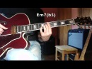 Jazz Guitar - How Insensitive - - melody and chords comping