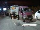 Подробности ДТП с КамАЗом на Промышленном шоссе в разбитой машине нашли оружие