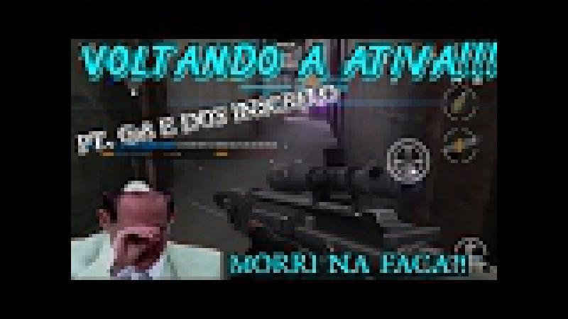 MODERN STRIKE ONLINE, G28 VOLTANDO A ATIVA COM PT. DOS INSCRITO! Morri na faca?!