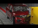2018 Honda Odyssey Deltagen Crash Simulation