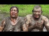 Немытые пьяные ордынцы россиянцы купаются в грязи как свиньи, грязевые ванны в РФ, русский мир