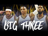 A NEW BIG THREE Russell Westbrook, Carmelo Anthony, &amp Paul George (OKC Promo 2017)